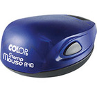 полуавтоматическая COLOP Stamp Mouse синяя